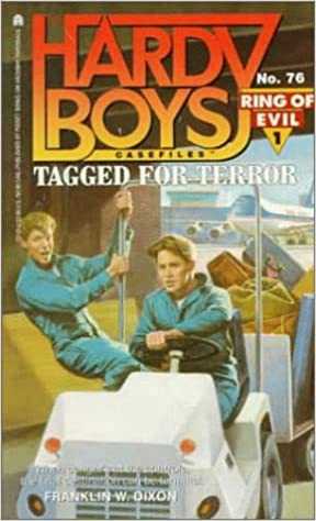 Book Tagged for Terror (Hardy Boys Casefiles, No. 76 / Ring of Evil, No. 1)