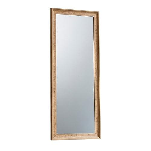 Waverly Oak Cheval Mirror in Light Oak Finish 150cm   Full Length ...