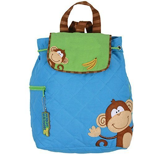 - Stephen Joseph Quilted Backpack Monkey