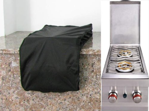 Best Prices! SUNSTONE COVERDB Weather Proof Cover for Slide-In Double Side Burner