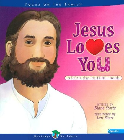 Jesus Loves You: A Read-The-Pictures Book