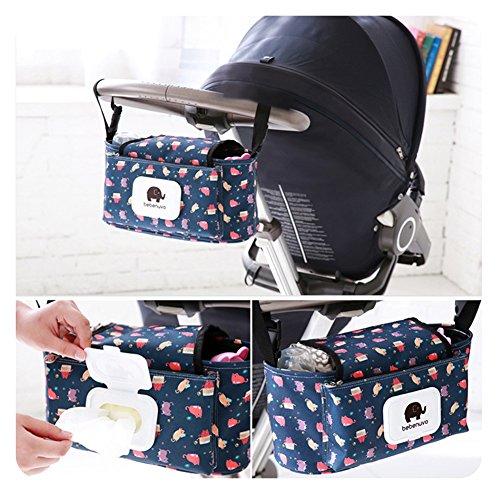 HaloVa Stroller Organizer, Baby Stroller Pram Organizer Bag,