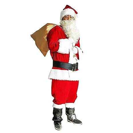 Conjunto de Disfraces de Papá Noel para Hombres Conjunto de ...