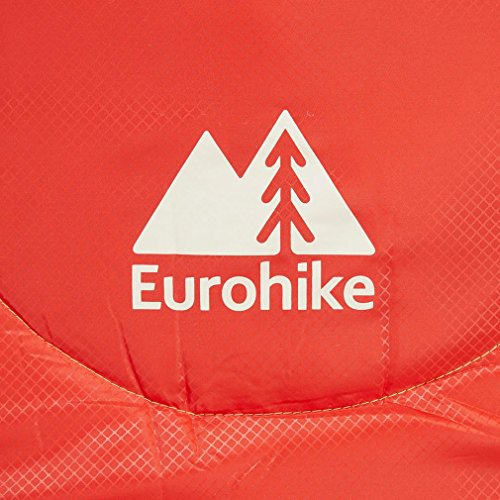 Eurohike Adventure Youth 200 Sac de couchage, Rouge, Taille Unique
