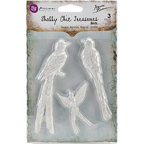 Prima Marketing Shabby Chic Treasures Resin, Birds
