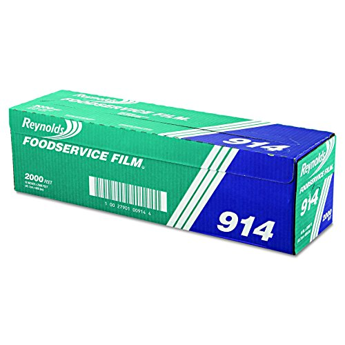 - Reynolds Wrap 914 PVC Film Roll w/Cutter Box, 18