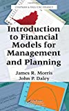 Introduction to Financial Models for Management and Planning 1st Edition