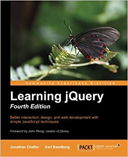 Book Learning jQuery- Fourth Edition