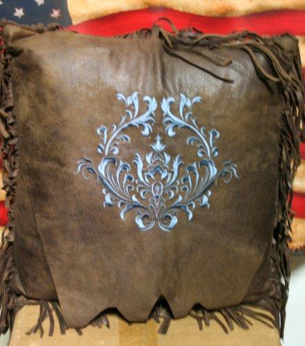 Western Turquoise Monterrey Throw Pillow