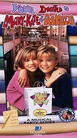 Amazon Com You Re Invited To Mary Kate Ashley S Mall Party Vhs