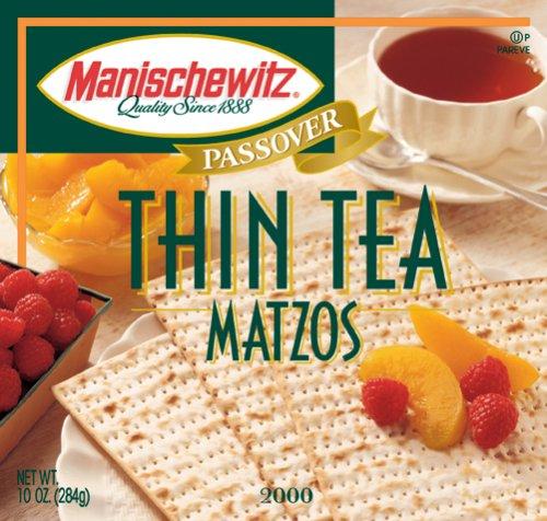 Manischewitz, Matzo, Thin, Unsalted, 10 (Matzo Thins)