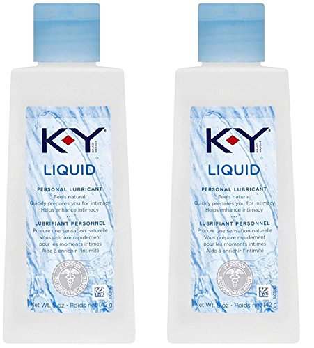 K-Y Liquid Personal Water Based Lubricant, 5 Ounce RiaNlw...