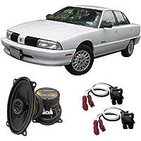 Fits Oldsmobile Achieva 1992-1995 Front Door Factory Replacement Speaker HA-R46 Speakers