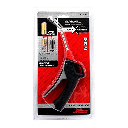 - Milton S-194KIT KWIK-CHANGE PRO Series Pistol Grip Blow Gun Kit - 5