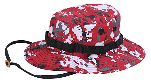 Rothco Boonie Hat, Red Digital  Camo, Size 7