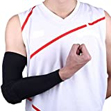 Evaric Doctor Combat Basketball Shooting Crashproof Arm Sleeve Elbow Pad Support Brace BlackL