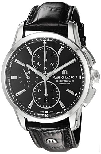 maurice-lacroix-mens-pontos-swiss-automatic-stainless-steel-and-leather-casual-watch-colorblack-mode