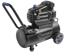 Shop Kobalt 1.8-HP 8-Gallon 150-PSI 120-Volt Horizontal Portable Electric Air Compressor at Lowes.com