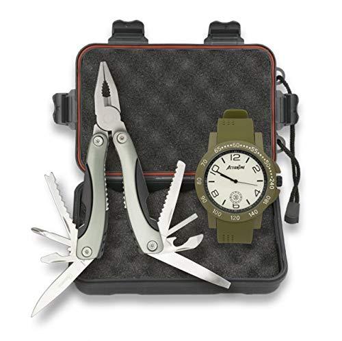 Set táctico Albainox, Contiene un Reloj táctico, Estuche ...
