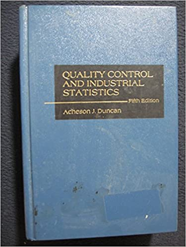 Quality control and industrial statistics fifth edition acheson quality control and industrial statistics fifth edition 5th edition fandeluxe Image collections
