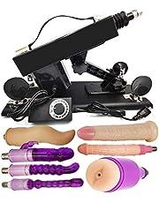 Massagemachine voor vrouwen, automatische stuwende liefdesmachine met masturbator Vagina Cup Dildo-bijlagen voor mannelijke masturbatie Sexmachine voor koppels