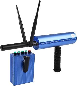 Eboxer Detector de Metales Profesional Escaneado Posicionamiento de la Antena Dual 1200 m Distancia de Búsqueda, 20 m de Profundidad de Detección para ...