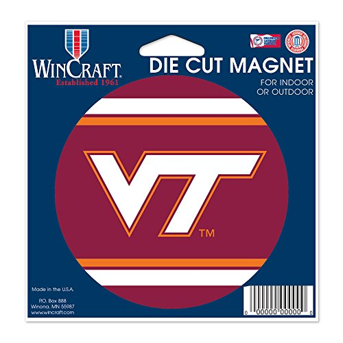 ch Hokies Official NCAA 4.5 inch x 6 inch Car Magnet by 258724 ()