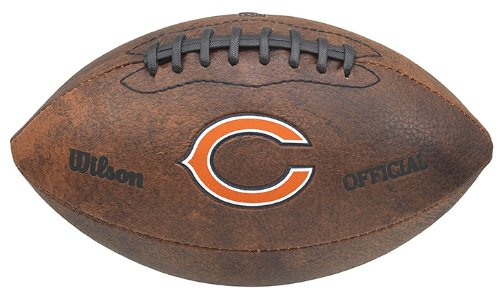 NFL Chicago Bears Color Logo Football , 9-Inches