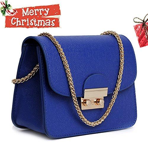 Women Fashion Shoulder Bag Crossbody Handbag(blue) - 3