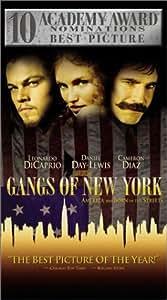Gangs of New York [VHS]