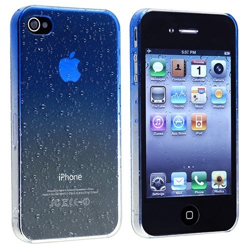 iphone 4 front screen blue - 9
