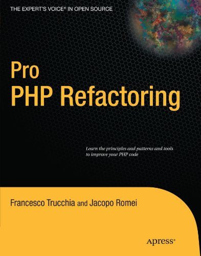 Pro PHP Refactoring with Test Driven Design by Francesco Trucchia , Jacopo Romei, Publisher : Apress