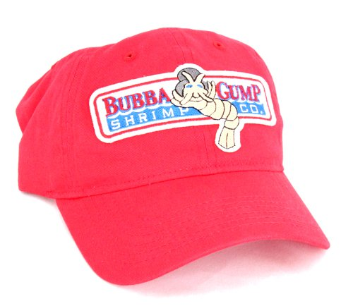 Bubba Gump Shrimp Red Hat Cap -