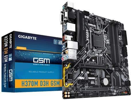 Gigabyte H370M D3H GSM DDR4 PCI-E 3.0 X16 HDMI/DVI-D Motherboards