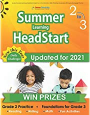 Lumos Summer Learning HeadStart, Grade 2 to 3: Fun Activities, Math, Reading, Vocabulary, Writing and Language Practice: Standards-aligned Summer Bridge Workbooks and Resources for Students Starting 3rd Grade