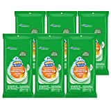 Scrubbing Bubbles Antibacterial Bathroom Flushable Wipes, Citrus Action, 28 ct, Pack of 6