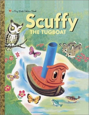 Download Scuffy the Tugboat (Big Little Golden Book) PDF
