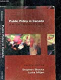 img - for Public Policy in Canada: An Introduction book / textbook / text book