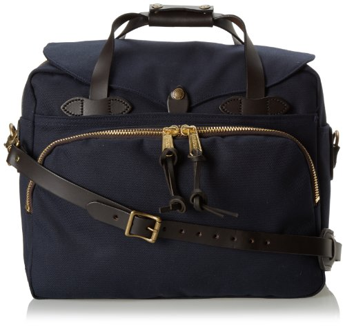 Filson Unisex Padded Laptop Bag/Briefcase Navy Briefcase ()