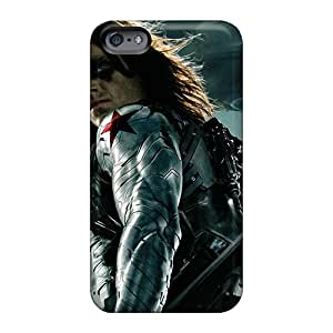 Shock Absorbent Hard Phone Cases For Apple Iphone 6 (yQn5054XEQZ) Allow Personal Design High Resolution The Winter Soldier Pictures