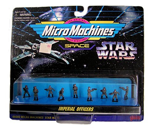 (Star Wars Micro Machines IMPERIAL OFFICERS Figure Collection 66080 [ 1996 ])