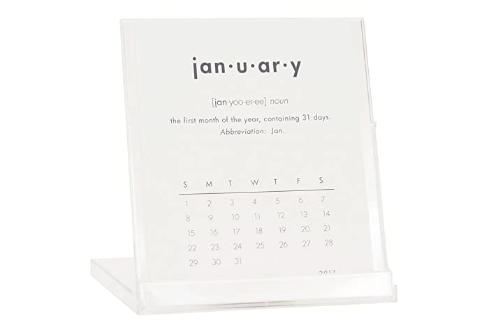 dictionary definition 2018 desktop calendar buy 2 get 1 free