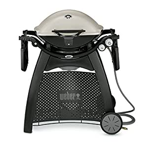 weber q 3200 natural gas grill titanium. Black Bedroom Furniture Sets. Home Design Ideas
