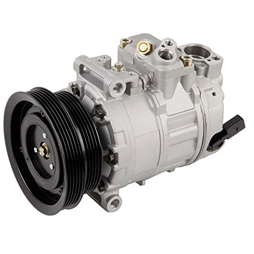 Volkswagen Passat Ac Compressor (New Premium Quality AC Compressor & A/C Clutch For VW Beetle GTi Golf And Jetta - BuyAutoParts 60-02113NA New)