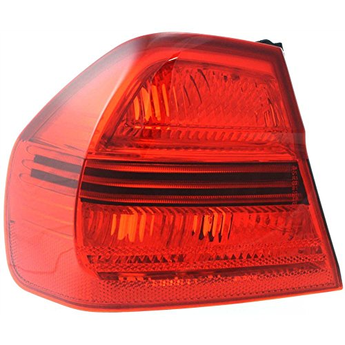Tail Light for 3-SERIES 06-08 Left Side Outer Lens and Housing Sedan
