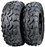 ITP BajaCross Tire - Front - 26x9Rx12 , Tire Size: 26x9x12, Position: Front, Rim Size: 12, Tire Ply: 8, Tire Type: ATV/UTV, Tire Construction: Radial, Tire Application: All-Terrain 560563