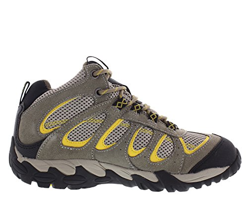 Hiking 9 Grey YelMid Moraine Waterproof Pacific Boots Mid Size Women's Black Mountain Backpacking Cut 8OqwgI
