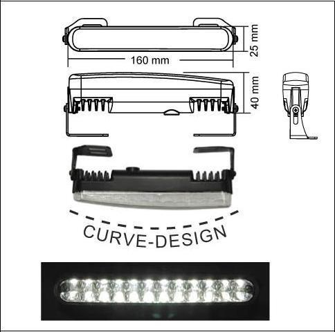 T/ÜV frei JUST-AU LED Tagfahrlicht inkl Steuerung und Dimmfunktion.Mit R//87 und R7 Zulassung