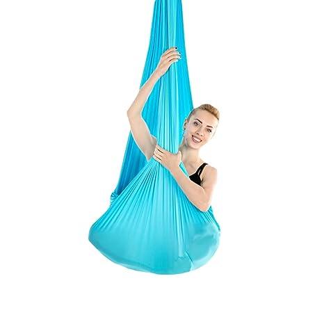 Yuanu Micro-Elasticidad Yoga Fitness Hamaca Suave Cómodo ...