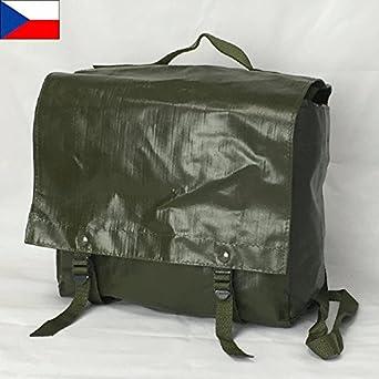 9eda9fdaa47d Amazon   チェコ軍 ODグリーン PVC M-85 ショルダーバッグ(新品 実物 ミリタリー) BG-CZ4N (OD)   ダンプポーチ・ バッグ 通販